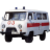 Иконка для wialon от global-trace.ru: УАЗ-3962 (буханка) Скорая помощь (1)