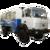 Иконка для wialon от global-trace.ru: Урал вахтовый автобус (3)