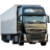 Иконка для wialon от global-trace.ru: VOLVO FH второе поколение рестайлинг с полуприцепом (4)