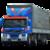 Иконка для wialon от global-trace.ru: Volvo FM первое поколение с полуприцепом (1)