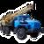 Иконка для wialon от global-trace.ru: Урал-4320 Буровая установка