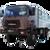 Иконка для wialon от global-trace.ru: Урал вахтовый автобус