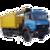 Иконка для wialon от global-trace.ru: Урал металловоз (2)