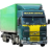 Иконка для wialon от global-trace.ru: Volvo FH первое поколение с полуприцепом (10)
