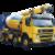 """Иконка для wialon от global-trace.ru """"Volvo автобетоносмеситель"""""""