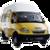 Иконка для wialon от global-trace.ru: Газель маршрутка